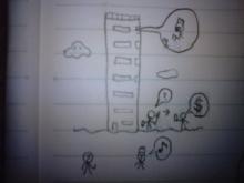 無免許科学者のブログ-七重の塔